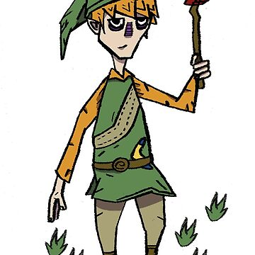 Link x don't starve by StrangeEd