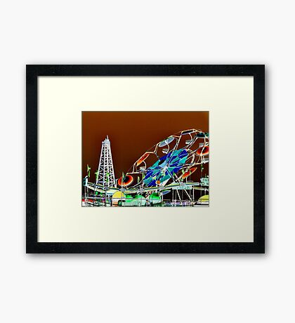 The Fair Framed Print