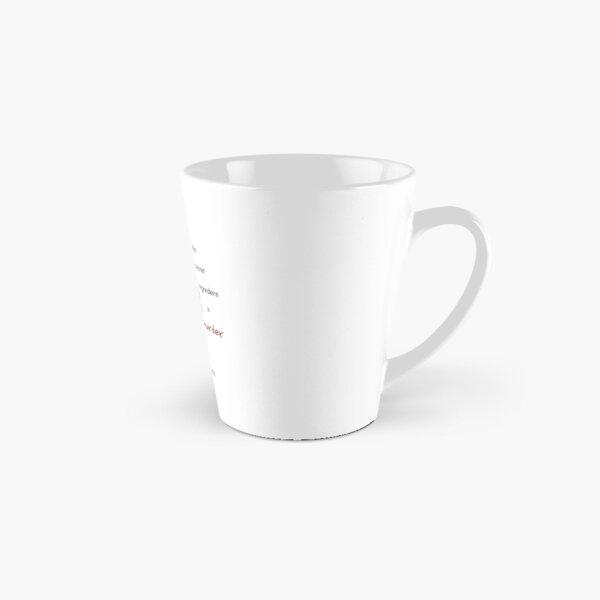 HUMAN CUPCAKES — ON ZED! Tall Mug