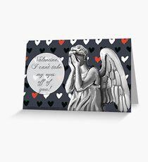 Angel Valentine Greeting Card