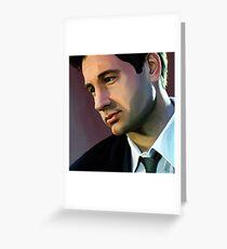 David Duchovny 3 Greeting Card