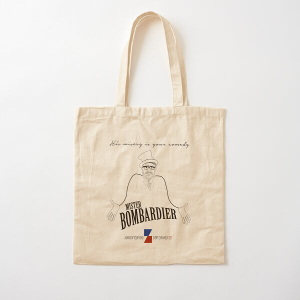 MISTER BOMBARDIER — ON ZED! Cotton Tote Bag