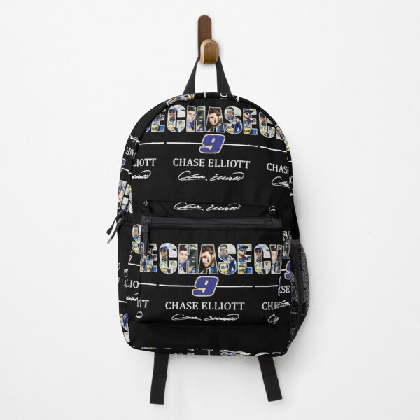 Chase 9 Chase Elliott Signature Gifts For Fans, For Men and Women, Gift Christmas Day Backpack