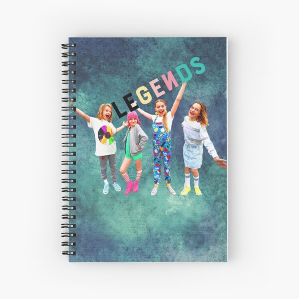 Norris Nuts Legends Spiral Notebook
