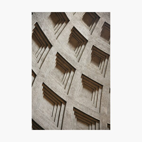 Square Detail Photographic Print