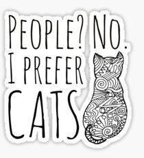 people? no. I prefer CATS #2 Sticker