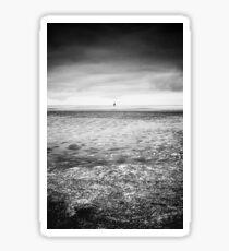 Beach Lubmin - Winter Study VI Sticker