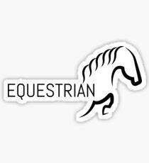 equestrian 2 Sticker