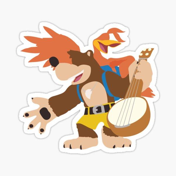 Banjo Kazooie Sticker