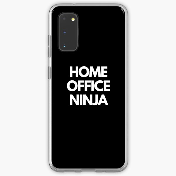 Home Office Ninja Samsung Galaxy Soft Case