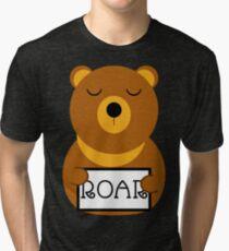 Hear the roar Tri-blend T-Shirt