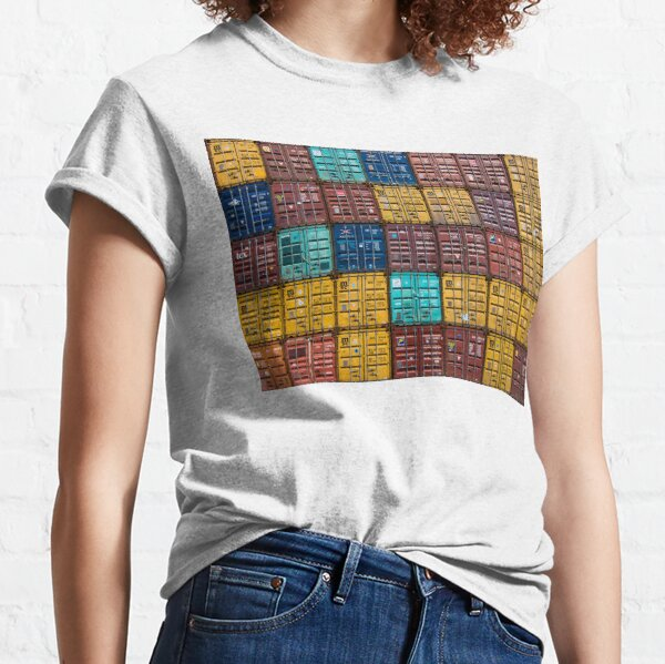 Stacked Shipping Containers Classic T-Shirt