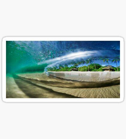 Tropical Wave Sticker