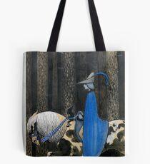 John Bauer , lady in blue Tote Bag