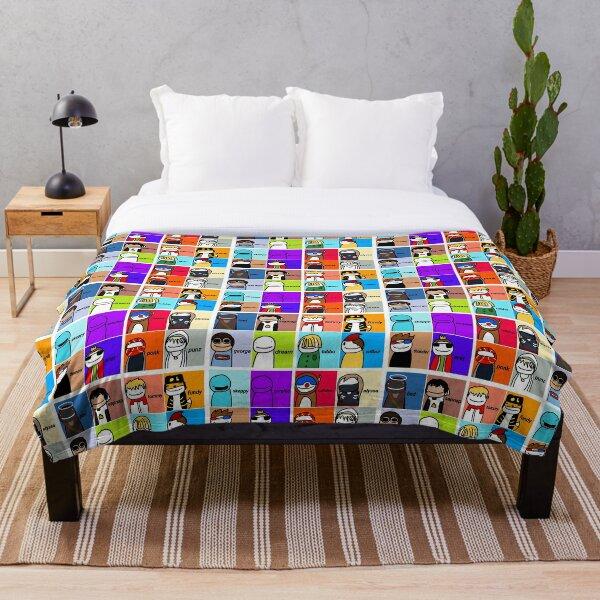 Dream Smp Throw Blanket