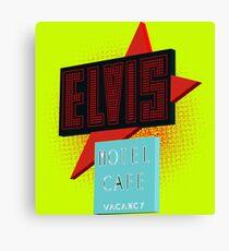 Elvis Motel Canvas Print