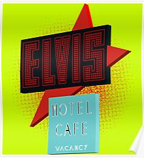 Elvis Motel Poster