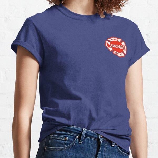 LOGOTIPO DE CHICAGO FIRE Camiseta clásica