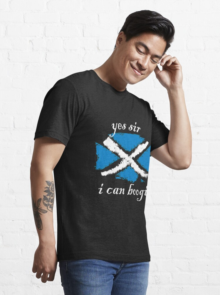 Alternate view of Yes Sir I Can Boogie Essential T-Shirt