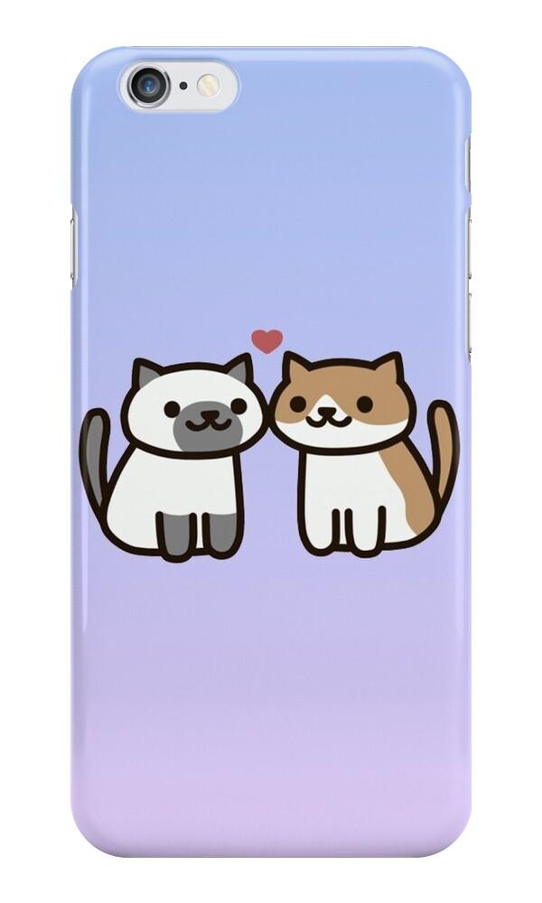 Neko Atsume Iphone Case