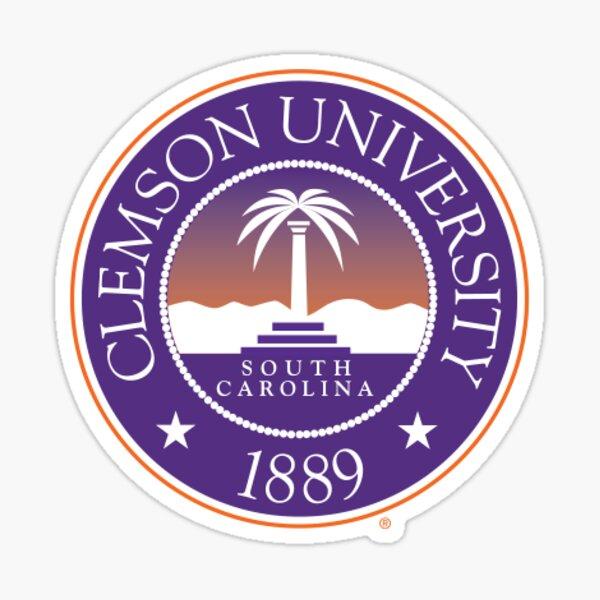 Clemson University Logo  Sticker