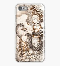 Angel and serpent iPhone Case/Skin
