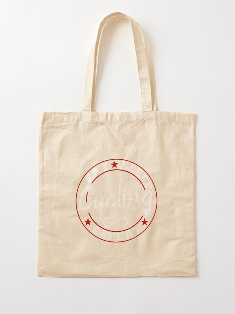 I love Downhill cotton bag tote