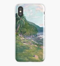 John La Farge, A Bridle Path in Tahiti iPhone Case/Skin
