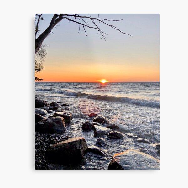 Fine Art Photography  Original  Water  Sunset  Lake Simcoe  Colourful  Modern  Photo  Print  Signed