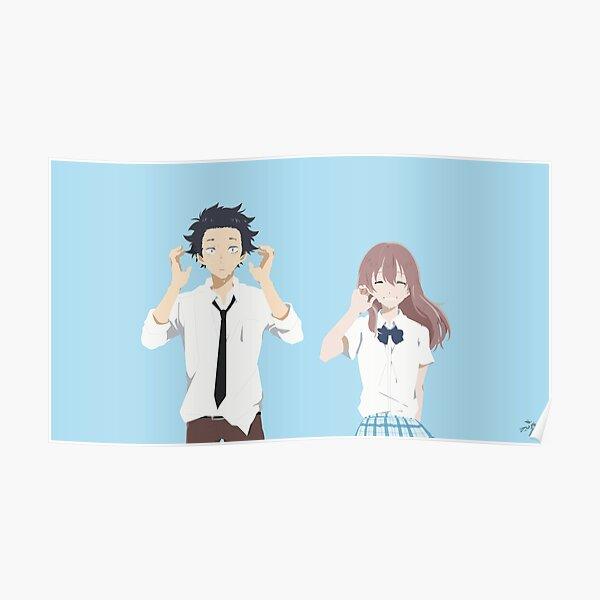 Koe no Katachi - A Silent Voice Best Couple Poster