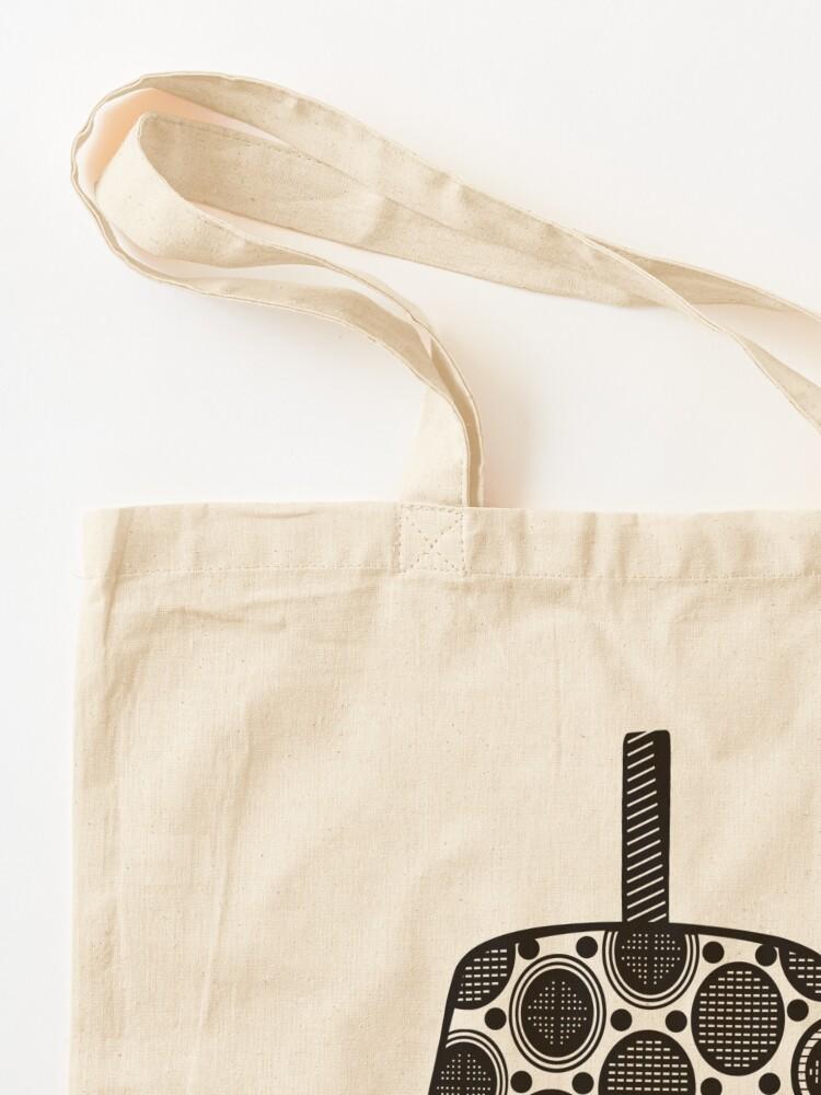 Alternate view of Endemik Music Logo - Black Tote Bag