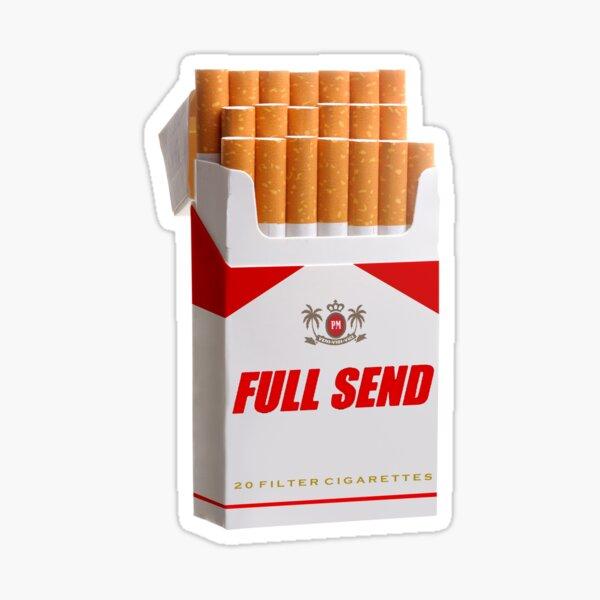 Full Send Cigarettes Sticker