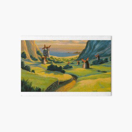 Paysage de Nausicaa Impression rigide