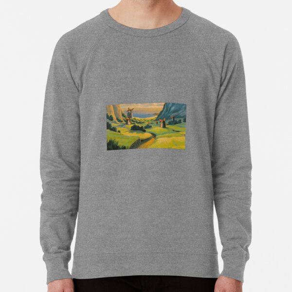Paysage de Nausicaa Sweatshirt léger