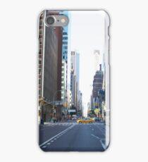 Yellow Taxi, Manhattan, NYC iPhone Case/Skin