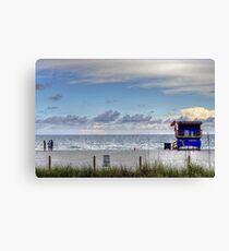 HDR Playa Canvas Print