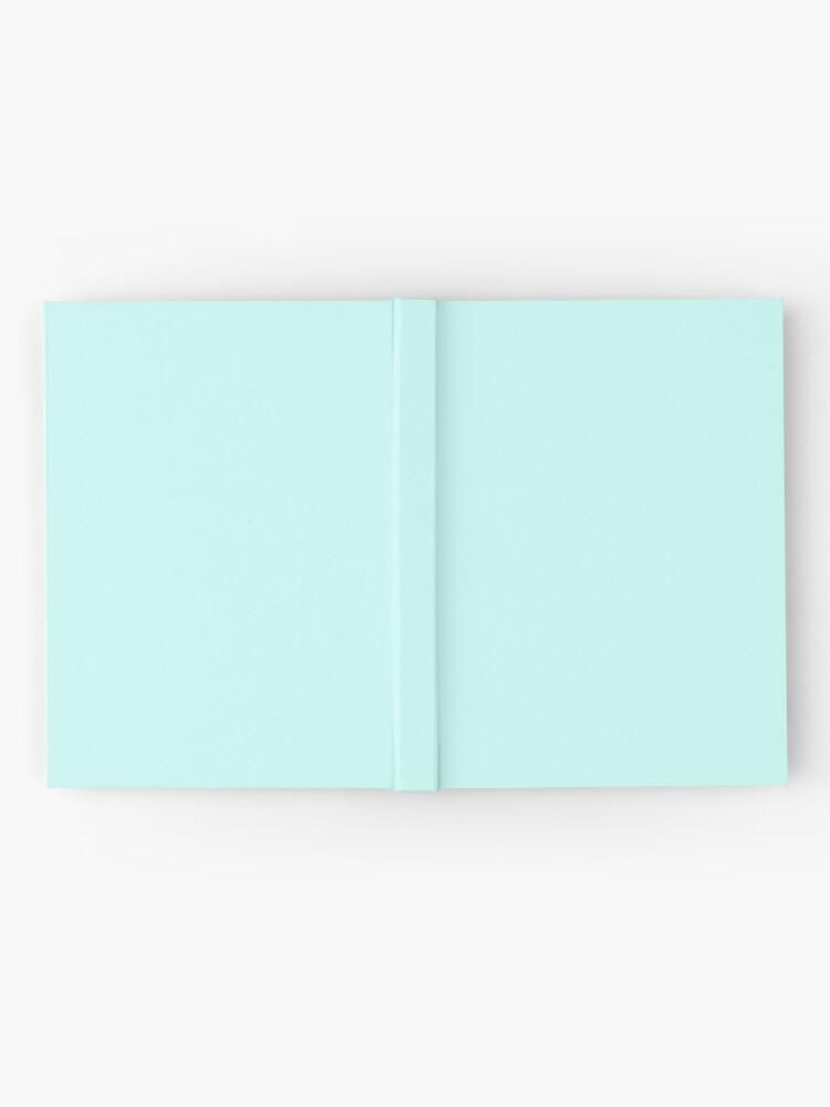Vista alternativa de Cuaderno de tapa dura Cuaderno azul pastel