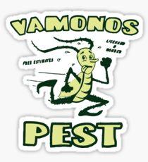 Breaking Bad: Vamonos Pest Sticker