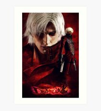 Devil May Cry 2 Art Print