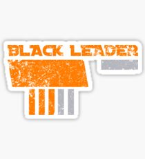 Black Leader Sticker