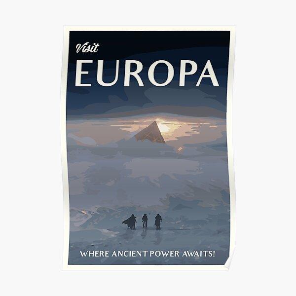 Anuncio de turismo Vintage Europa - Póster