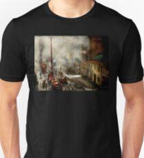 Fireman - New York NY - Big stink over ink 1915 T-Shirt