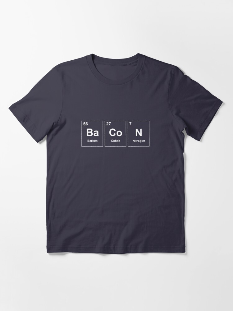 Alternate view of Bacon Element Essential T-Shirt