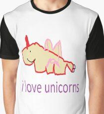 i love unicorns  Graphic T-Shirt