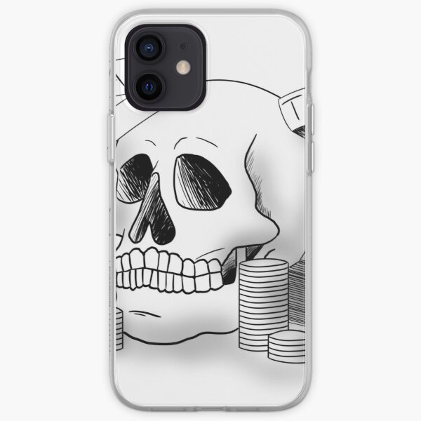 Death and Taxes iPhone Soft Case