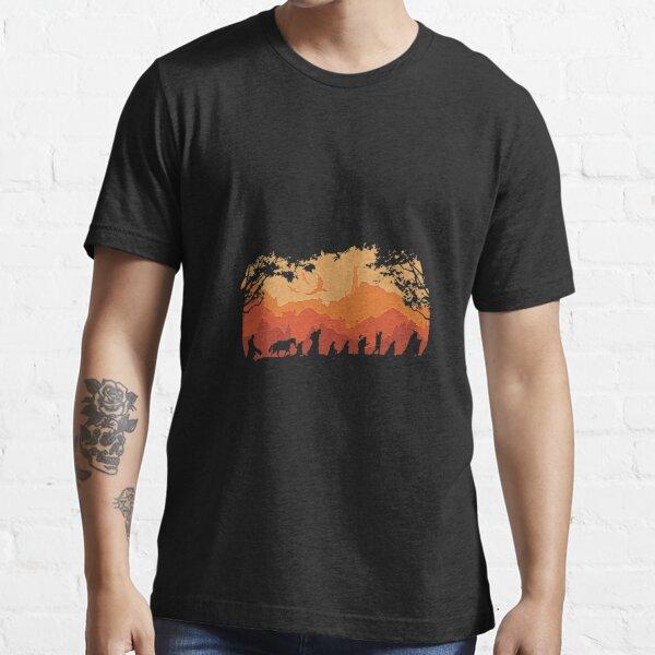 Retro Vintage Shadow Nine Companions T-Shirt Essential T-Shirt