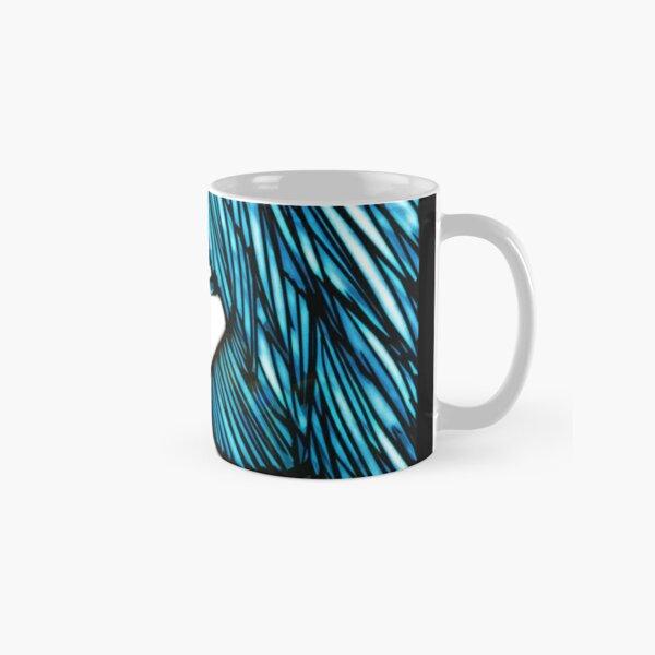 Blue Hair Fall Day Classic Mug