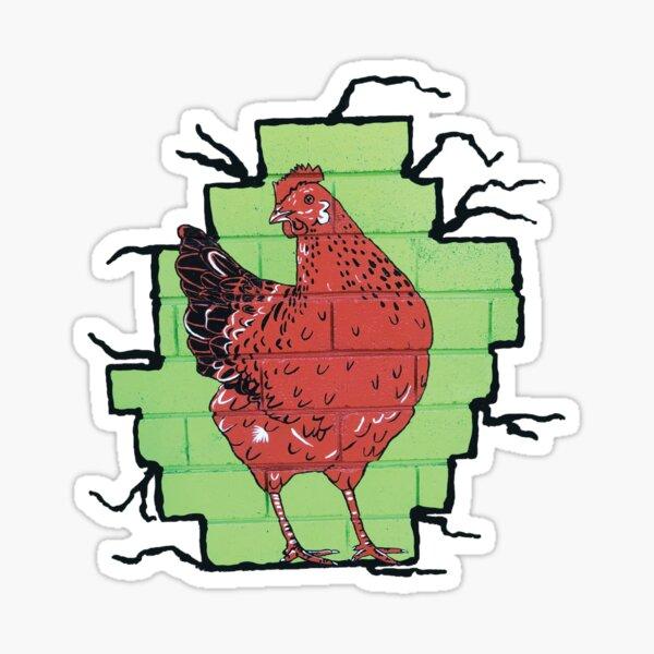 Chicken by Sally O'Neill Sticker