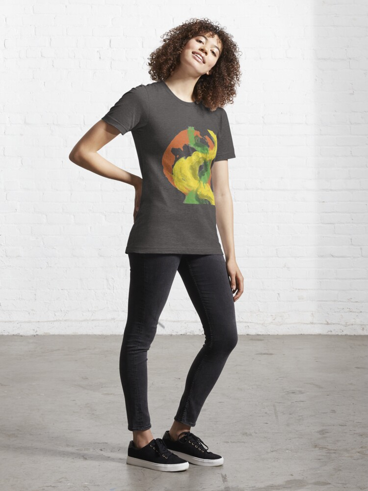 Alternate view of Abstractitude of Lines Essential T-Shirt
