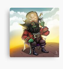 0029 - Bone Chair LeChuck Canvas Print